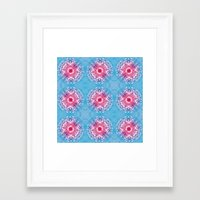 diamonds Framed Art Prints featuring Diamonds by ARTDROID