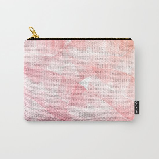 Banana Leaves Pink Carry-All Pouch