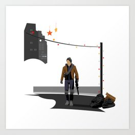The Division Agent Art Print