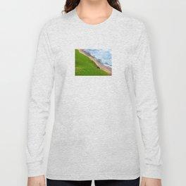 Land Meets Sea Long Sleeve T-shirt