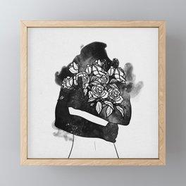 Leaving reality. Framed Mini Art Print