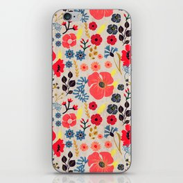 Summer Flowers - Pattern iPhone Skin
