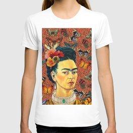 FRIDA bUTTERFLYS T-shirt