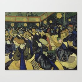 The Dance Hall in Arles Canvas Print