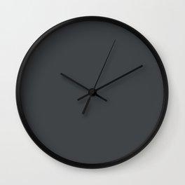 Aialik Glacier ~ Grey Waters Wall Clock