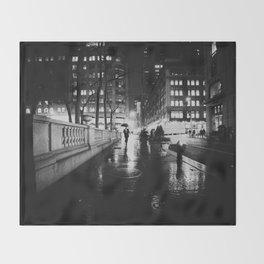 New York City Noir Throw Blanket