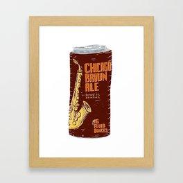Chicago Brown Ale Framed Art Print