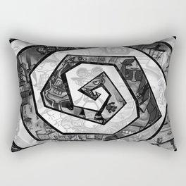 Past the madness... Rectangular Pillow