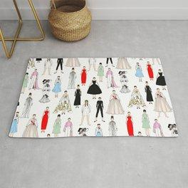 Audrey Fashion Whimsical Layout Rug