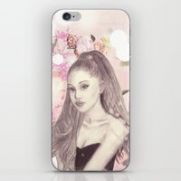 ariana grande iPhone & iPod Skins featuring Ariana by Share_Shop