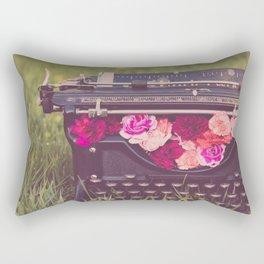 Poetry Rectangular Pillow