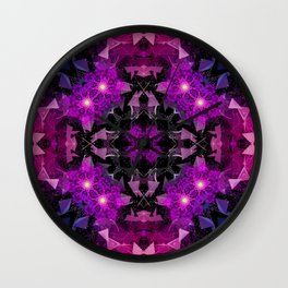 Luminescent Mindscapes Wall Clock