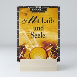 figugegl mit laib und seele  vintage Poster Mini Art Print