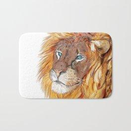 Colourful Lion Bath Mat