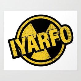 IYARFO Radiated Art Print