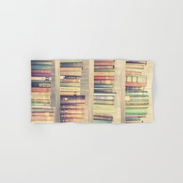Dream with Books - Love of Reading Bookshelf Collage Hand & Bath Towel