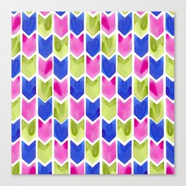 Arrow Multicolor Canvas Print