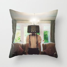 Ol' Radio Daze Throw Pillow