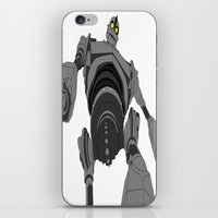 iron giant iPhone & iPod Skins featuring Iron Giant. by Steven Goddard