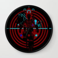 tron Wall Clocks featuring Tron by Florey