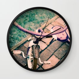 LomoChrome Tricycle  Wall Clock