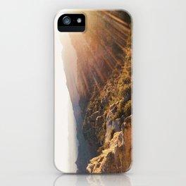 Windy Vista Sunset iPhone Case