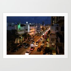 Street Lights Art Print