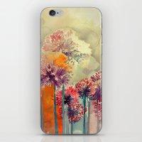 takmaj iPhone & iPod Skins featuring Allium by takmaj