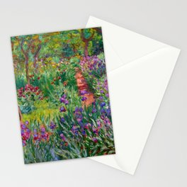 """Claude Monet """"The Iris Garden at Giverny"""", 1899-1900 Stationery Cards"""