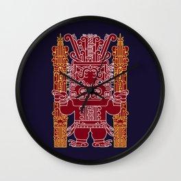 Chavin Deity Wall Clock
