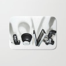 Love Photography Bath Mat