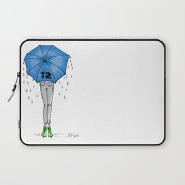 12th Man Umbrella // Fashion Print Laptop Sleeve