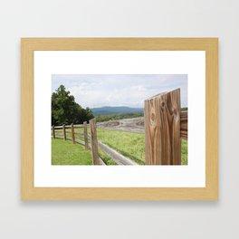 Mountain Life Framed Art Print