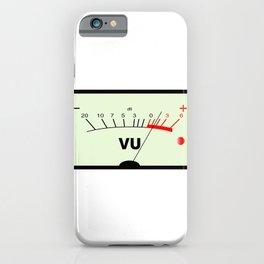 Audio Meter iPhone Case