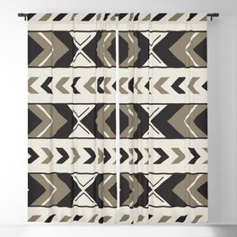 African Tribal Pattern No. 131 Blackout Curtain