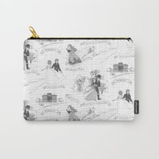 Pride and Prejudice Toile Carry-All Pouch