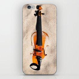 Sandy violine iPhone Skin