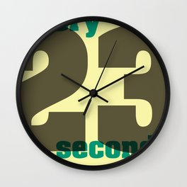 Every 23 seconds Wall Clock