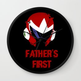 Father's First Wall Clock