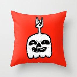 CRIMSON 5 GHOST Throw Pillow
