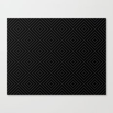 Black Squares Canvas Print