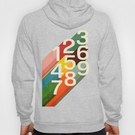 Retro Numbers Hoody