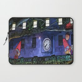 GNOMES IN THE CLOCKTOWER CHILDRENS GRAPHIC ART  Laptop Sleeve