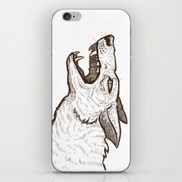 Open Mouth iPhone Skin