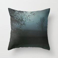 Song of the Nightbird Throw Pillow
