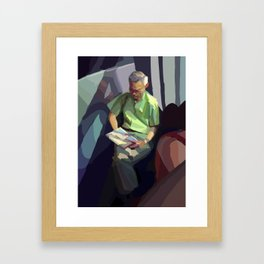 Montreal Heat Framed Art Print