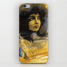 Black Power iPhone & iPod Skin