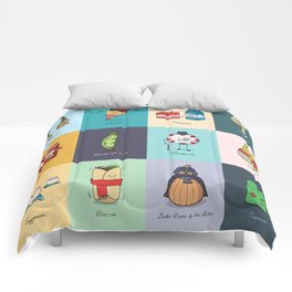 Punny Doodle Collection Comforters