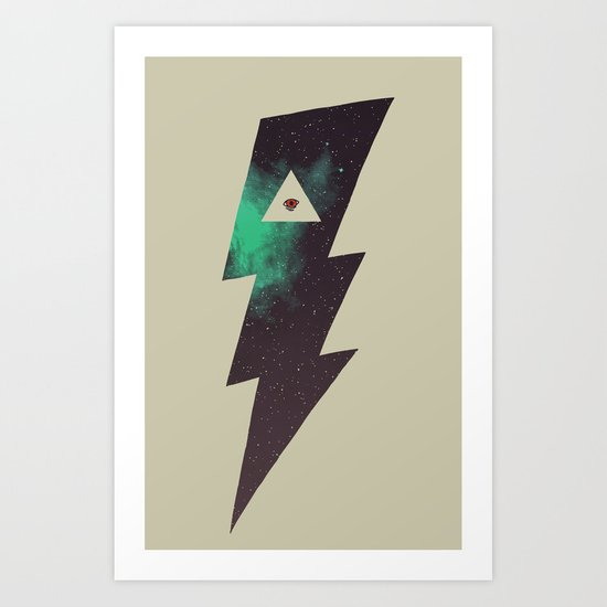 Dark Energy Art Print