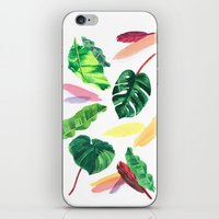 palm iPhone & iPod Skins featuring PALM by Ellie Cryer